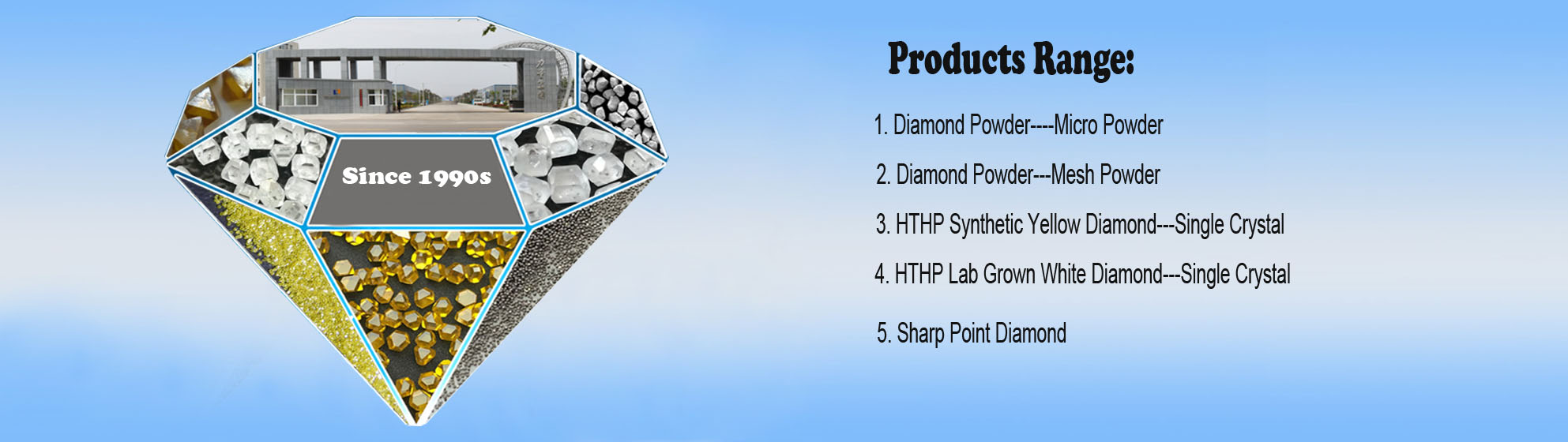 Products of HENAN LILAING DIAMOND CO., LTD